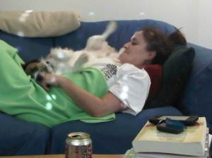 Rocco with his mommy