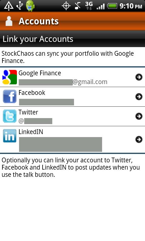 Stock Chaos Accounts